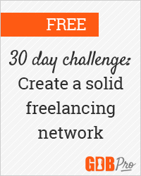 Beginning September 10, 2013: build your network in 30 days