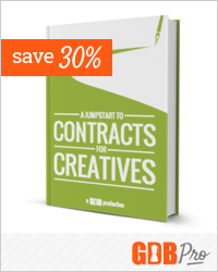 30% off our bestselling new ebook for freelancers: Contracts For Creatives