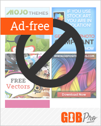 Enjoy all of GDB's library of excellent content completely ad-free.