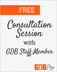 One free web site, portfolio, or business consultation with a member of the GDB staff.